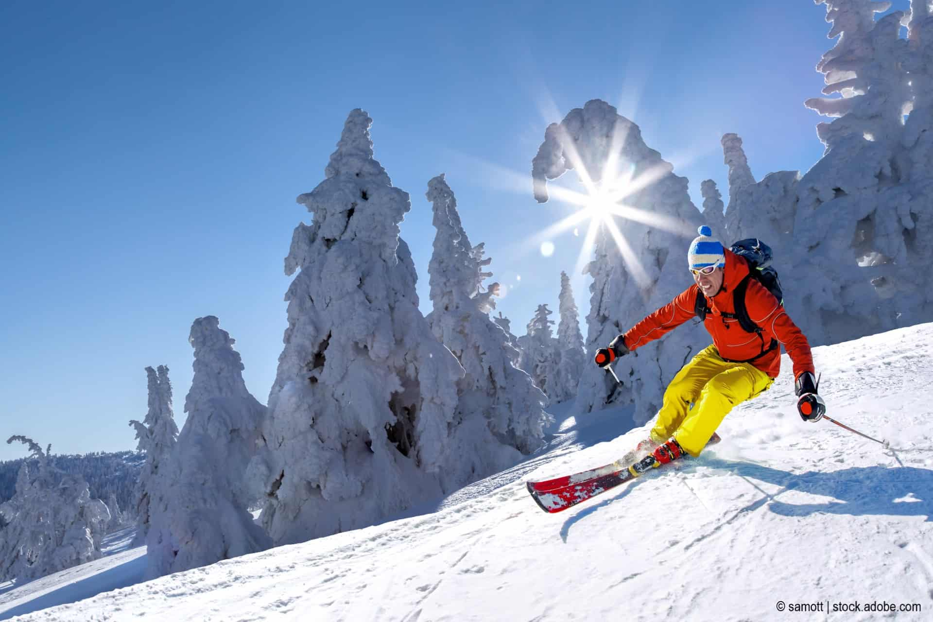 skier pflegen