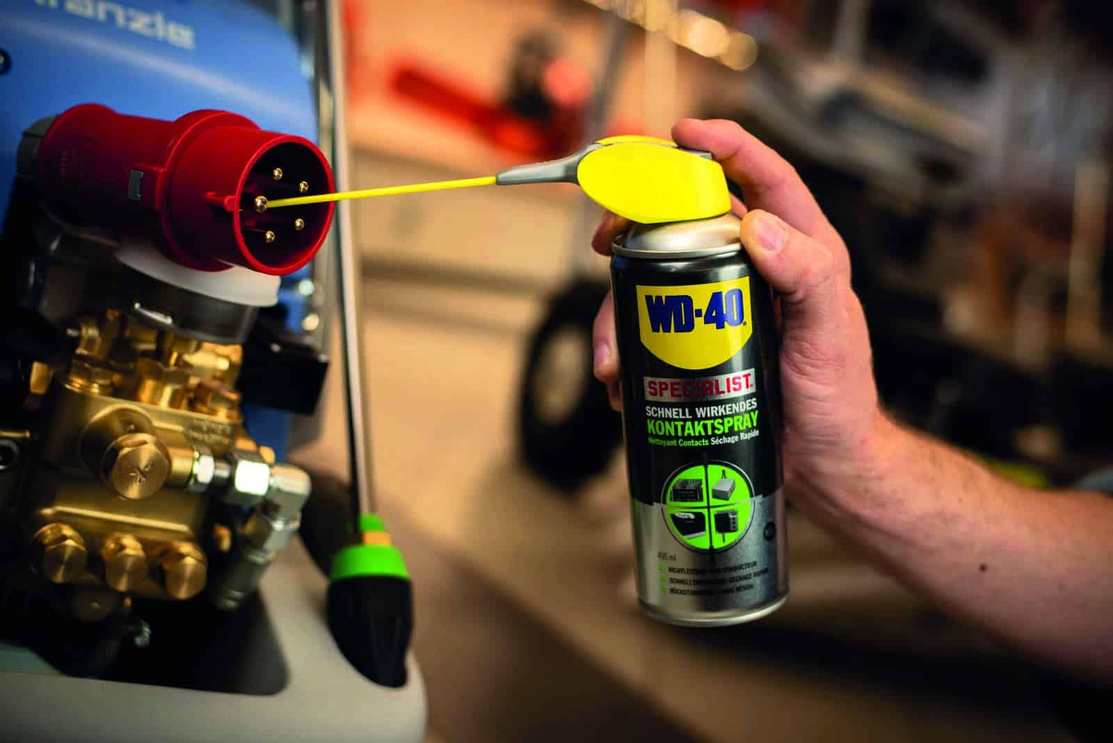 Le spray de contact, qu'est-ce que c'est et comment l'utiliser ? - le guide WD-40