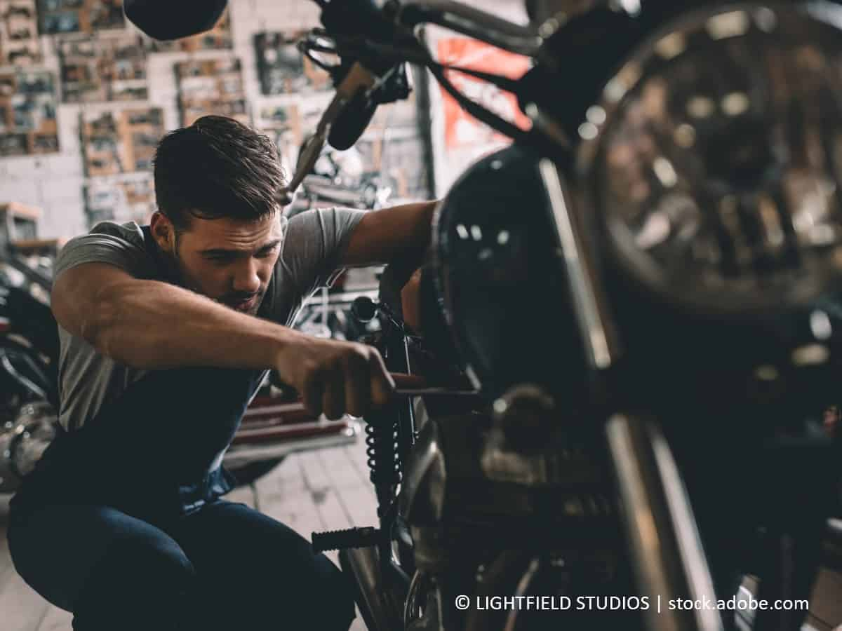 motorradverkleidung pflegen