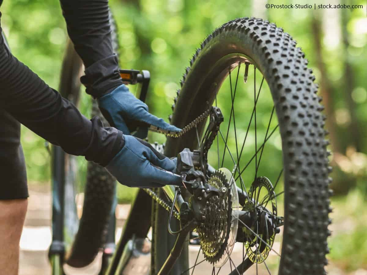mountainbike fakrradkette schmieren zustand festellen