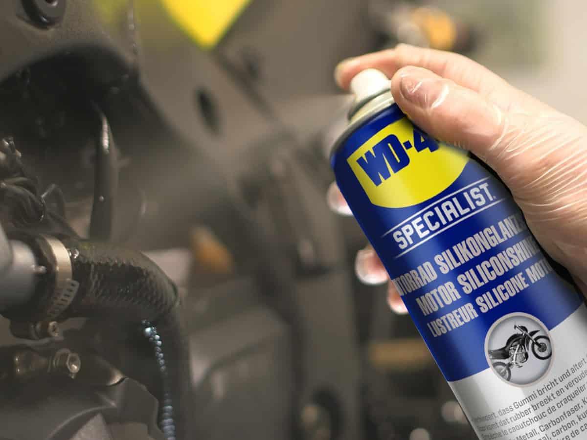 teer vom motorrad entfernen und polieren