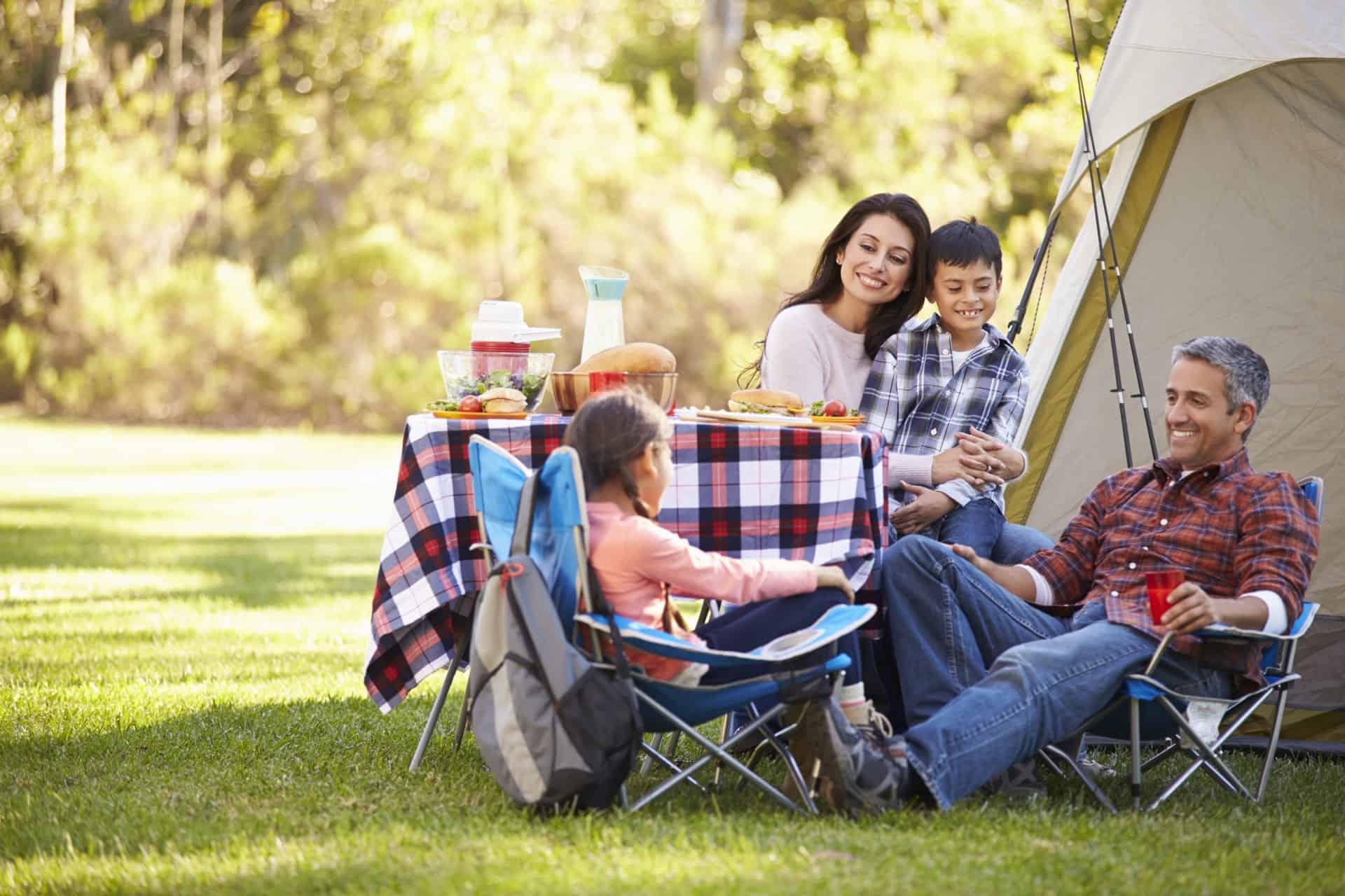 campingmöbel pflegen