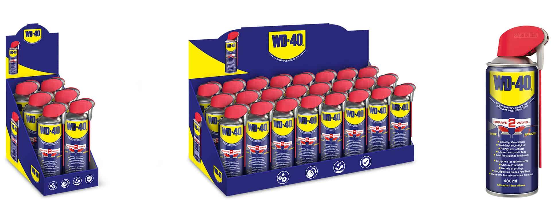 Pressemitteilung - Die WD-40 Company stärkt Marktposition mit Einführung neuer 400ml WD-40 Smart Straw Dose