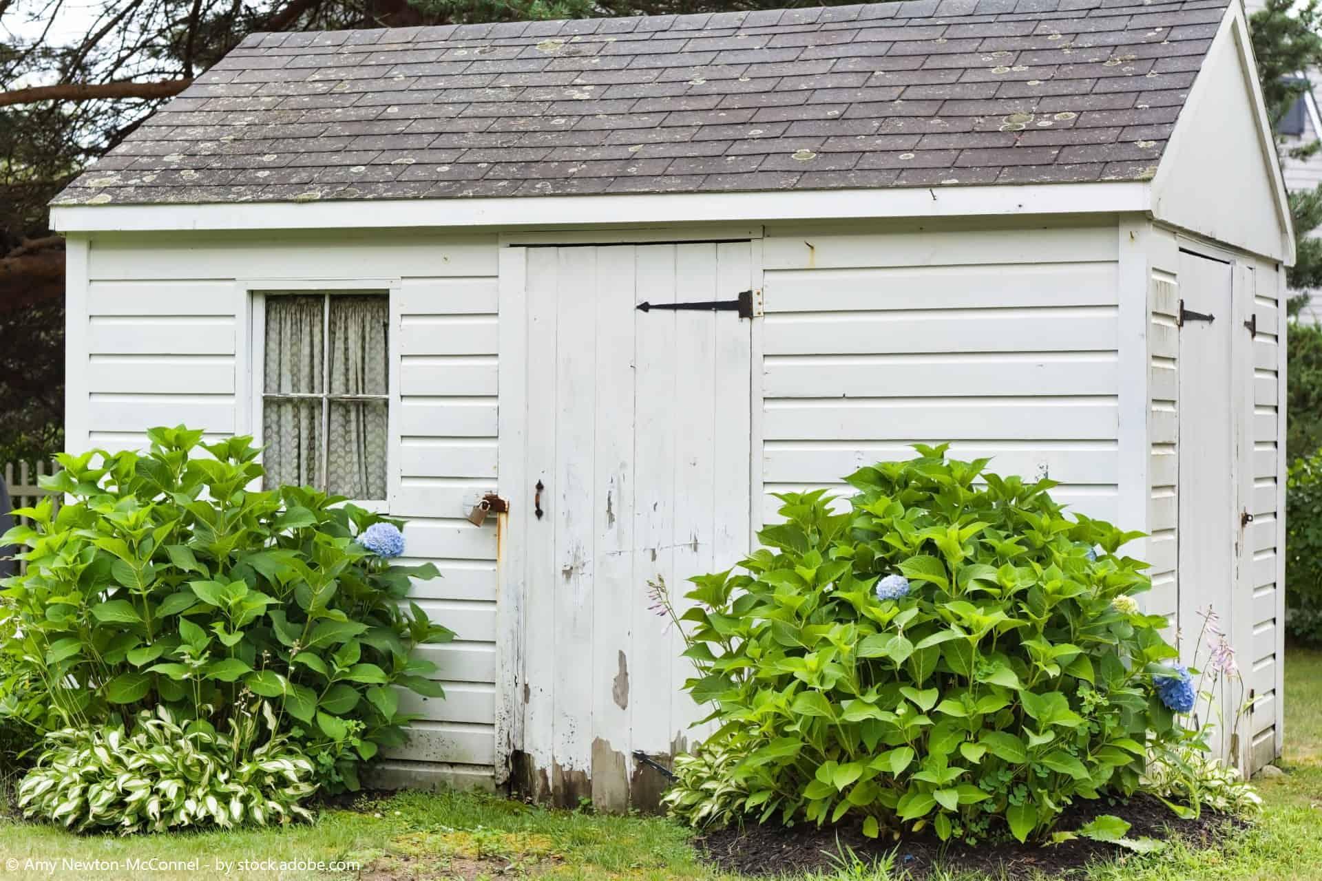 gartenhaus renovieren