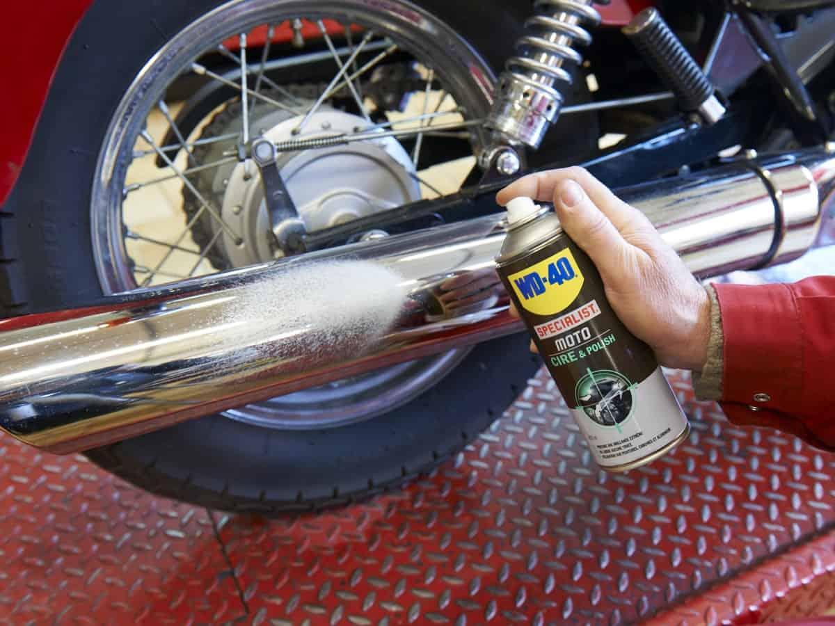 motorrad polieren
