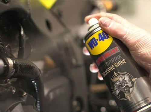 WD40 Motorbike Usage Shot