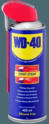 WD40, ένα προϊόν που πρέπει να υπάρχει σε κάθε σπίτι.