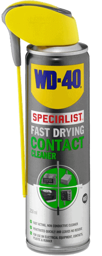 wd-40 fast drying contact cleaner 250ml