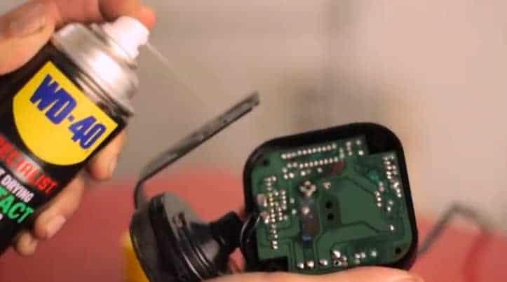 σπρει καθαρισμού ηλεκτρικών επαφών