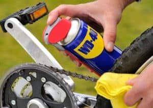 Αντισκωριακό σπρέι αλυσίδας: Κάντε καινούργιο το ποδήλατο σας!