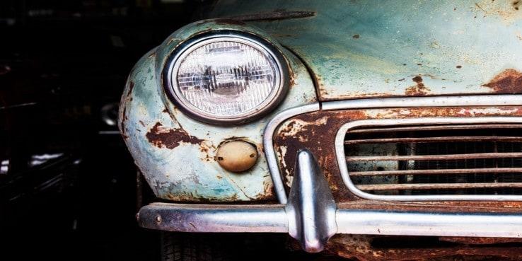 Σκουριά στο αυτοκίνητο