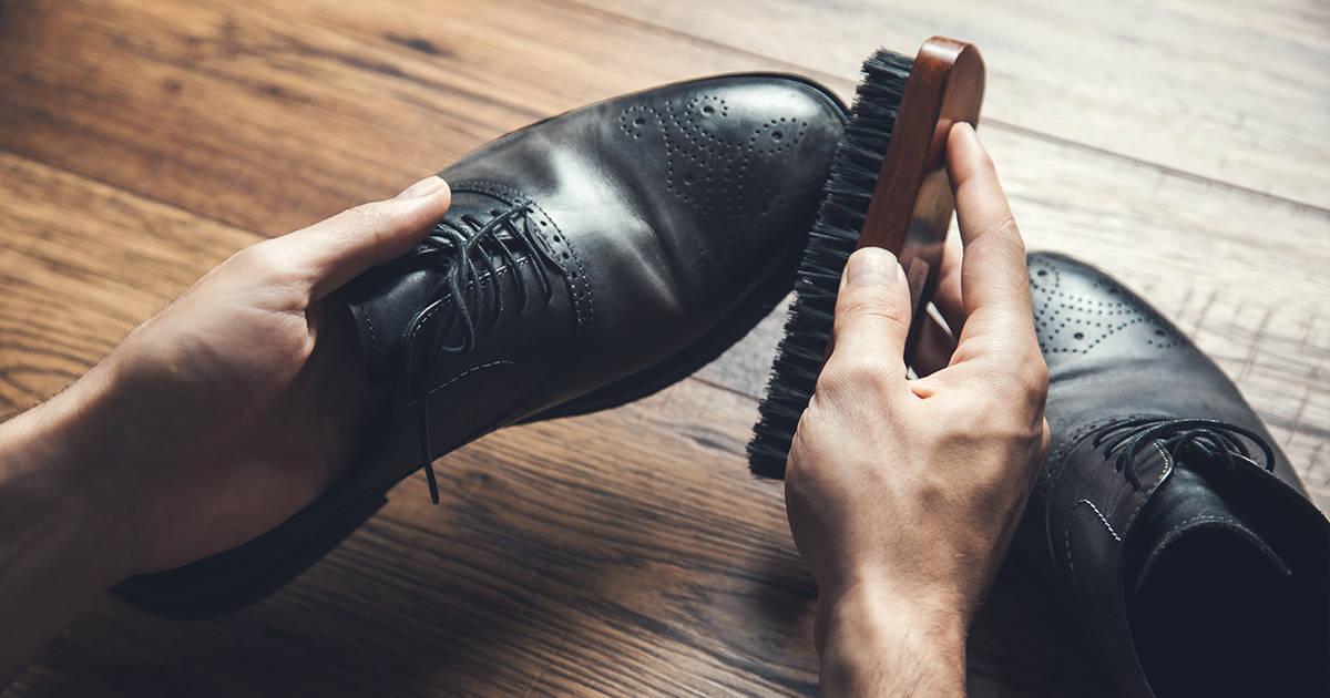 Πως καθαρίζω δερμάτινα παπούτσια