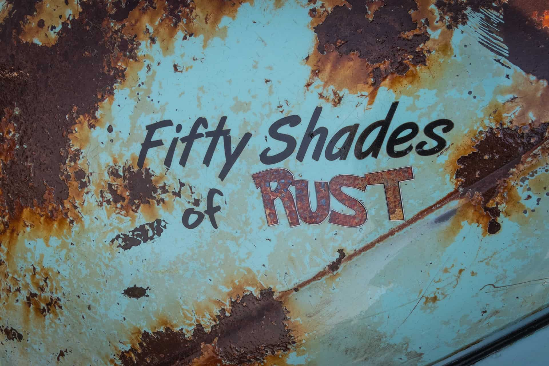 canva fifty shades of rust printed cover