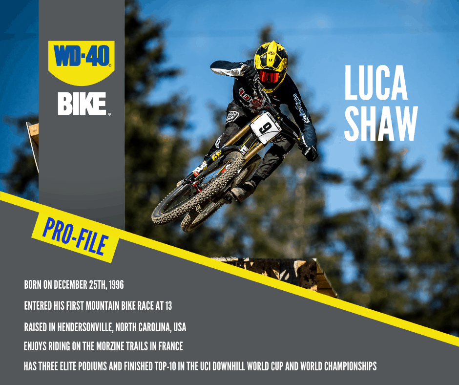 WD-40 Athlete: Luca Shaw