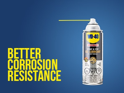 Better Corrosion Resistance