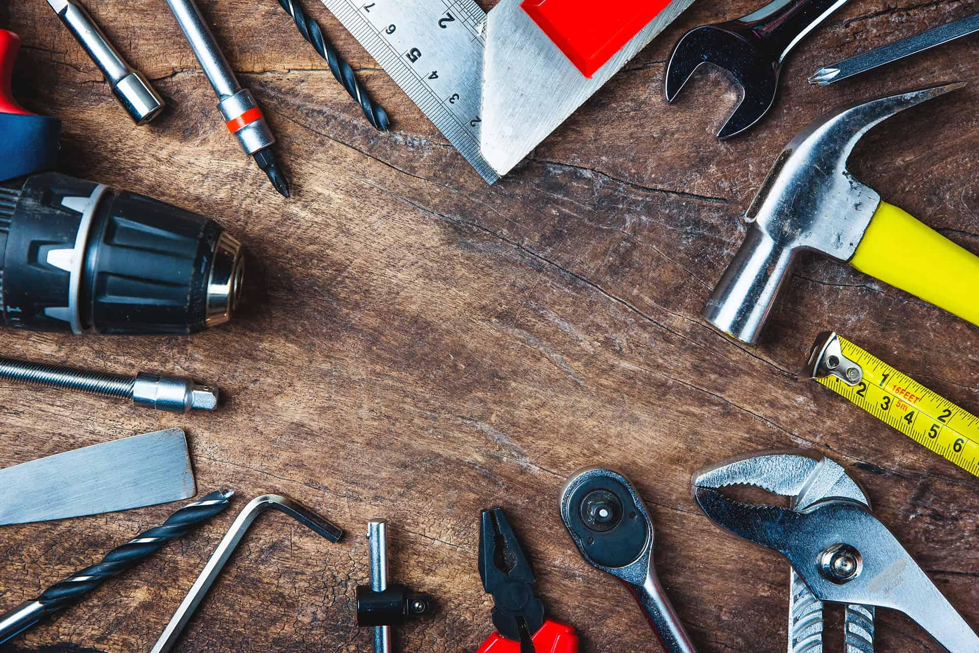 storing tools