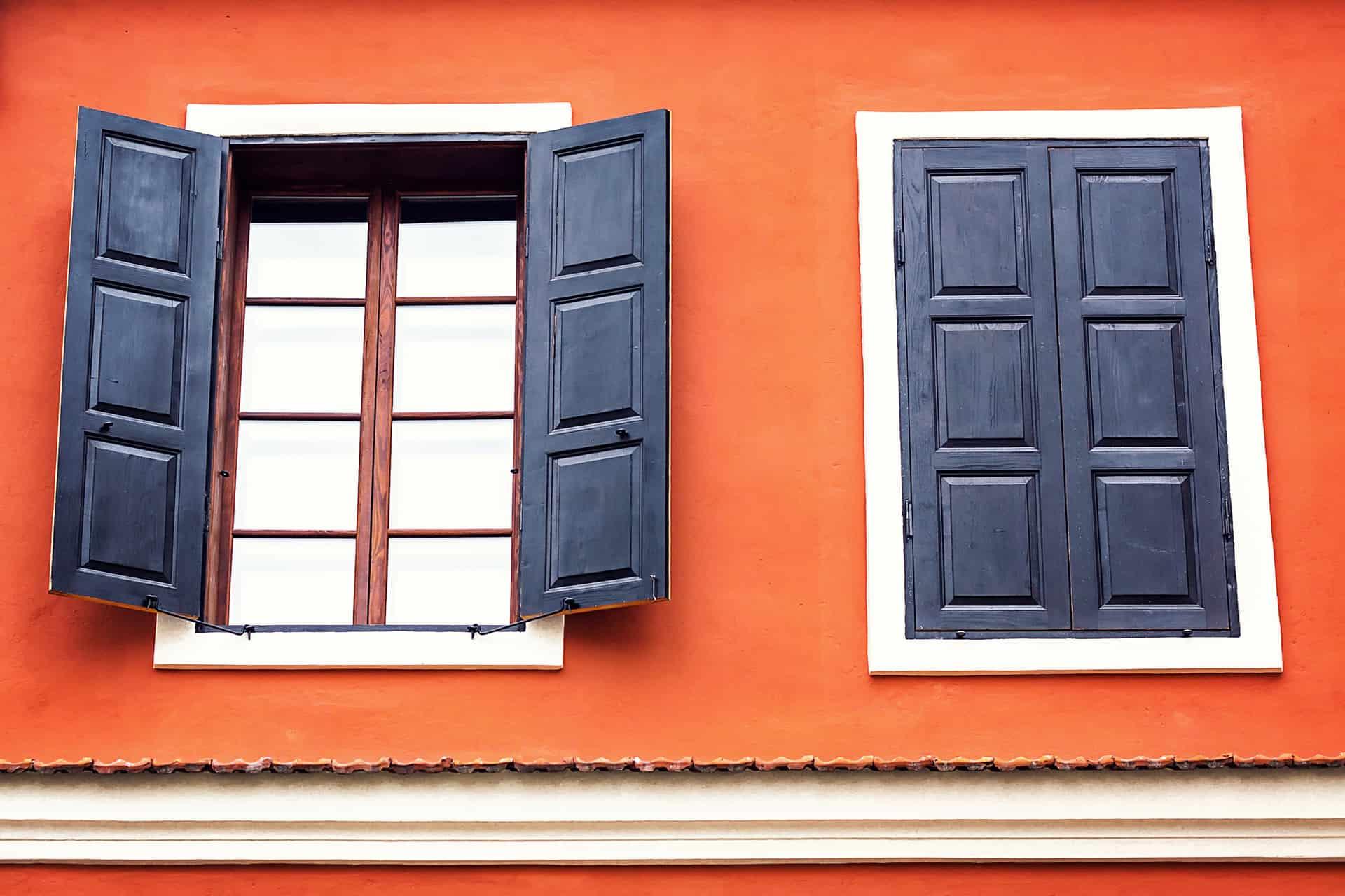 installing exterior window shutters