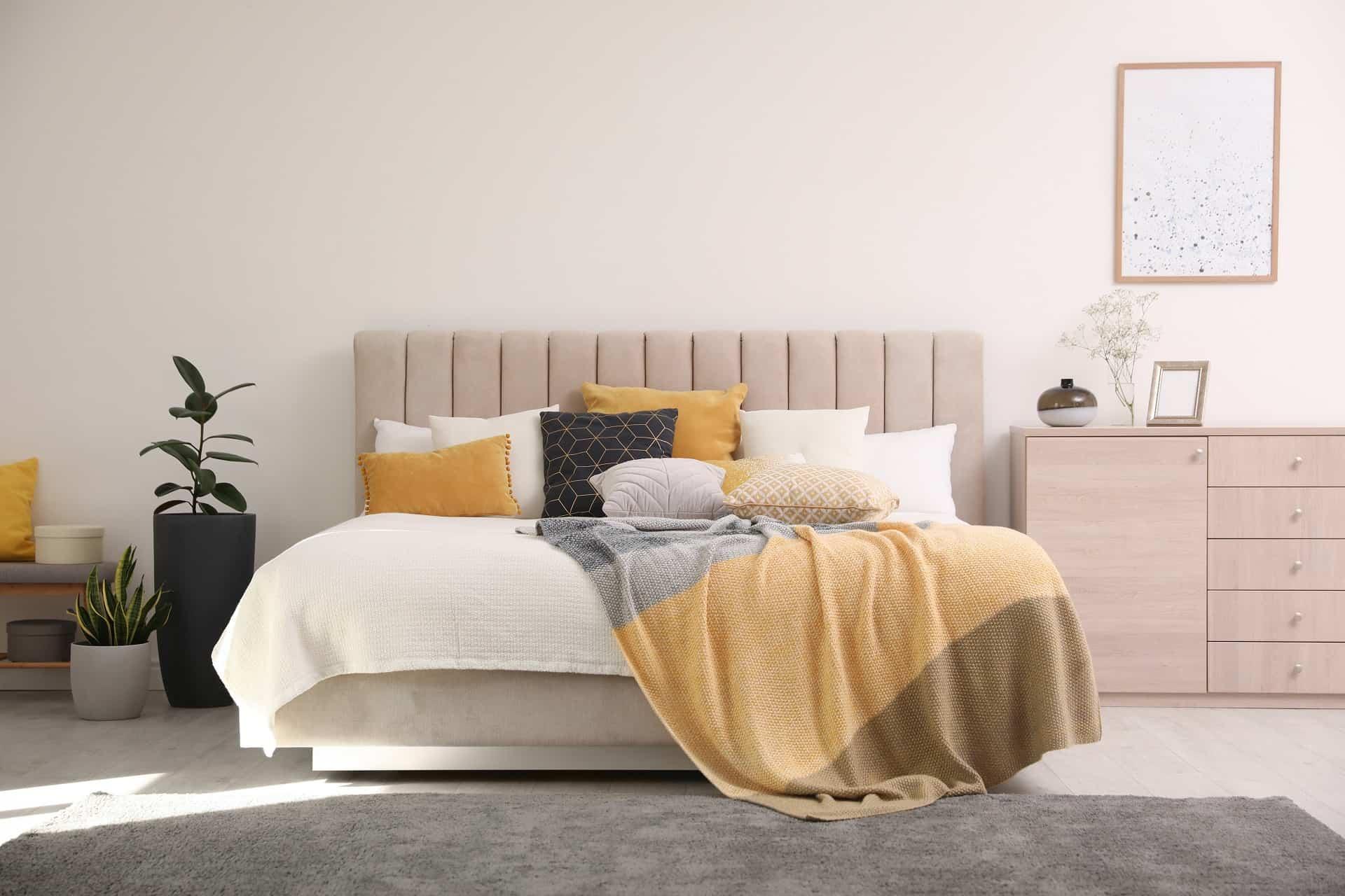 reupholster bed frame