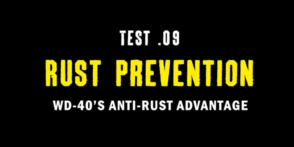 test 9 rust prevention