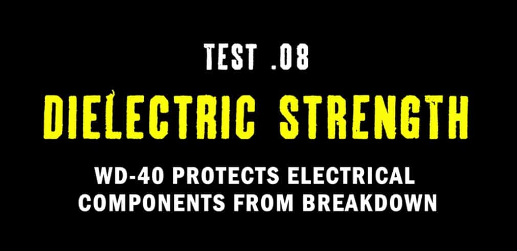 test 8 dielectric strength