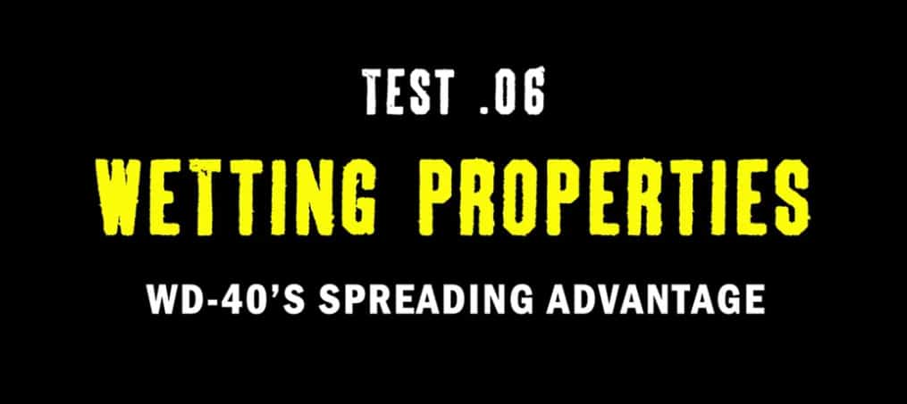 test 6 wetting properties