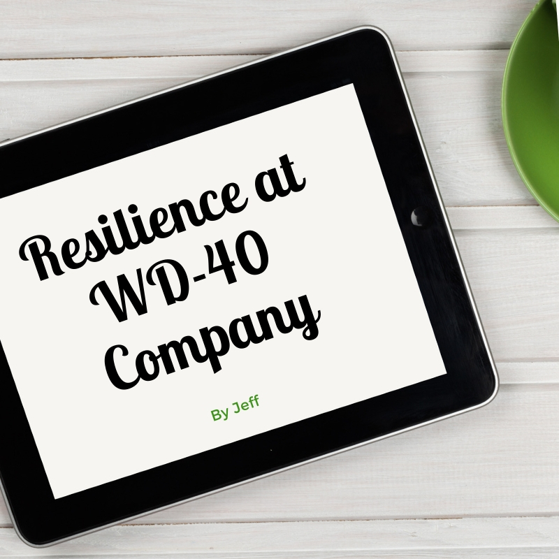 resilience at wd 40 company