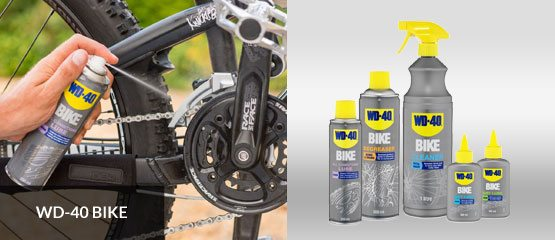 WD-40 Bike Products Family