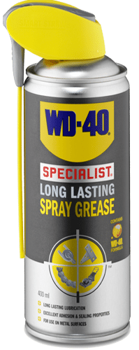 long lasting spray grease