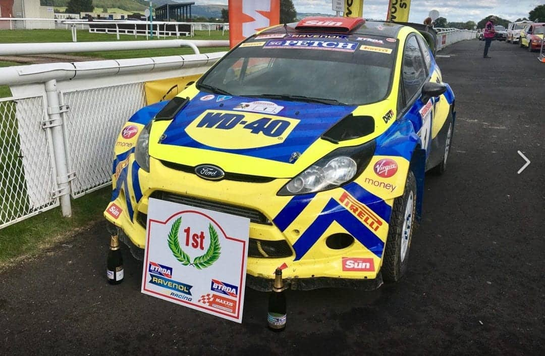 WD-40 RALLY-BRITISH CHAMPIONS!