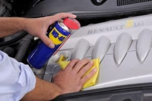 How to Maintain A Car with WD-40