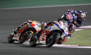 Qatar Round of Moto GP saw a strong start for the Alma Pramac Racing Team