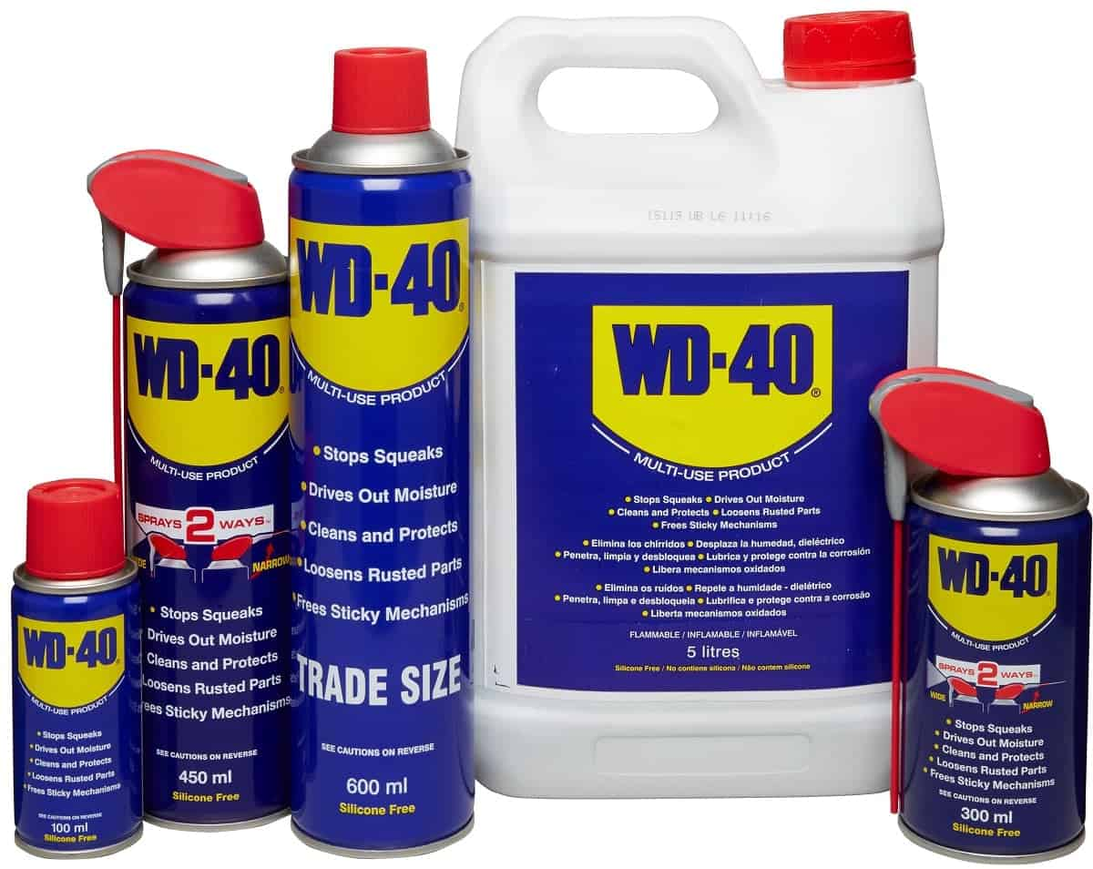What is wd-40?