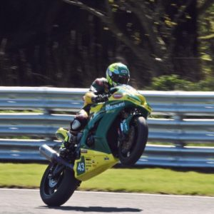 MASON LAW's FIRST SUPERBIKE POINTS