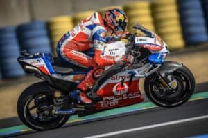 Brilliant podium for Pramac racing in France