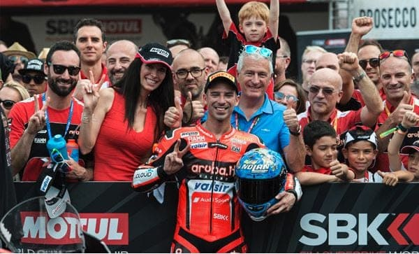 Great weekend for Aruba.it Racing at Brno