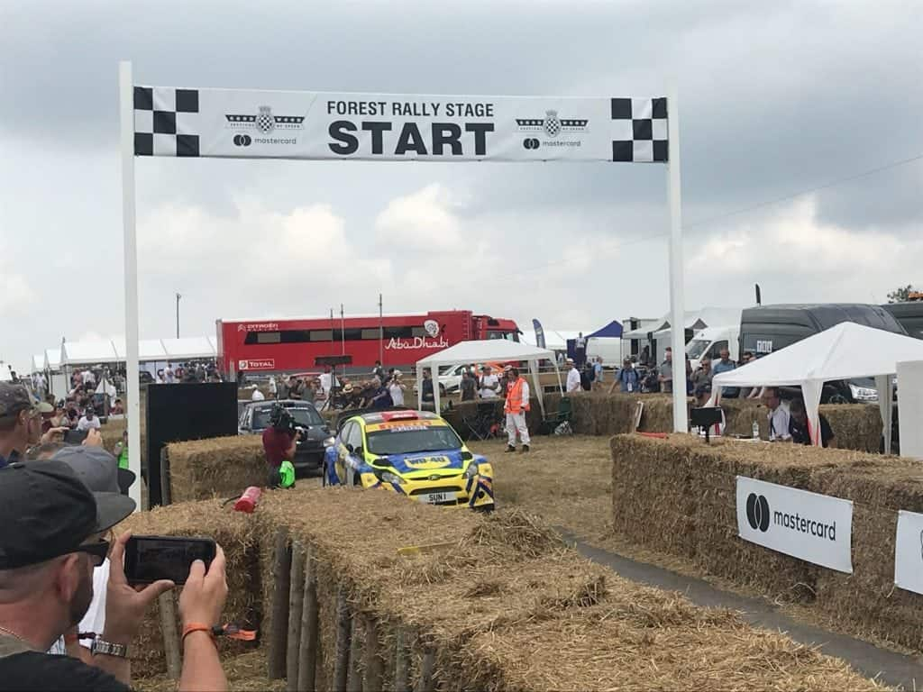 WD-40 Rally Team at the Goodwood Festival of Speed 2018