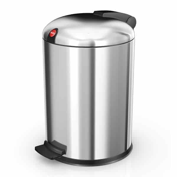 cleaner stainless steel bin