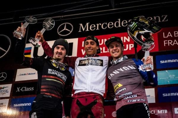 Thrilling End to the World Cup for Danny Hart in La Bresse