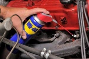 WD-40 Uses for Your Car!
