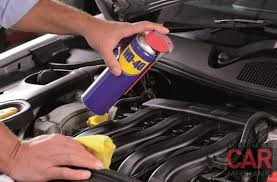 car engine wd40