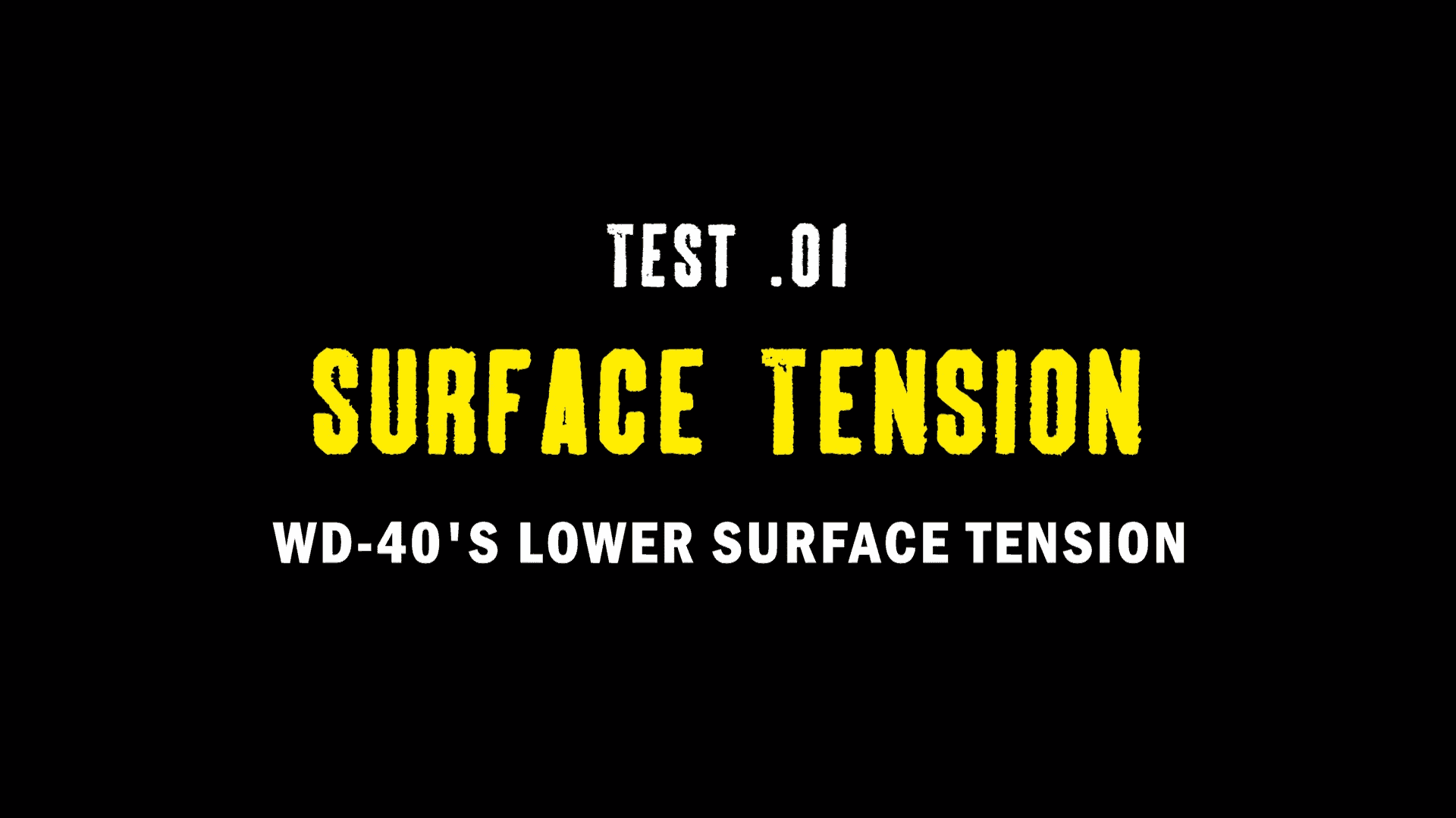 test 01. surface tension