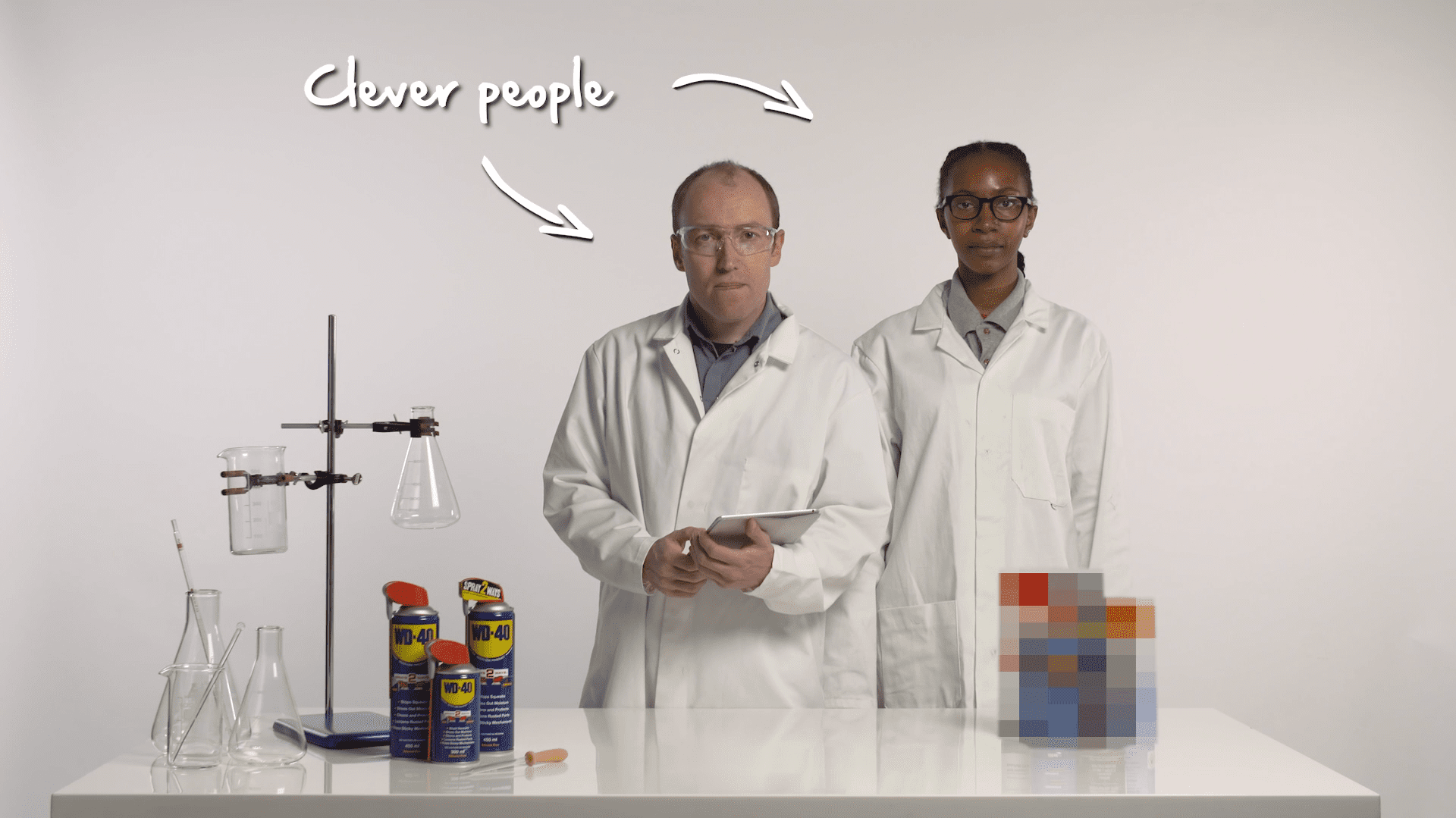 WD-40 Lab Tests
