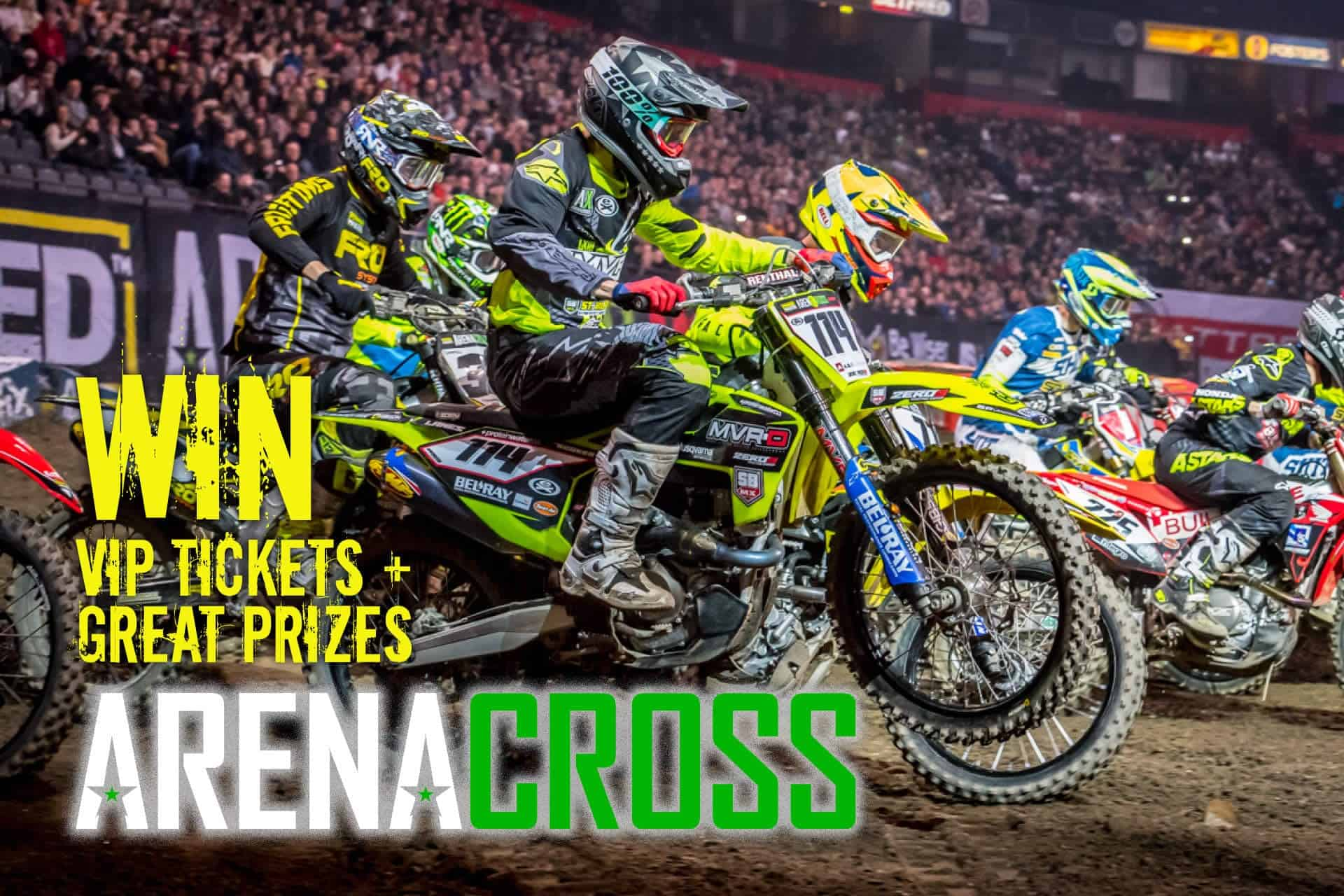 arenacross win vip tickets blog