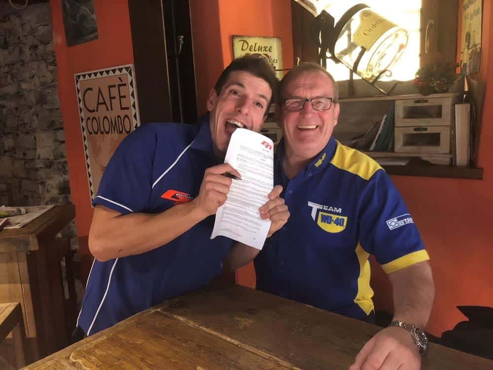 Italian ace Corti set for Bennetts BSB debut with Team WD-40