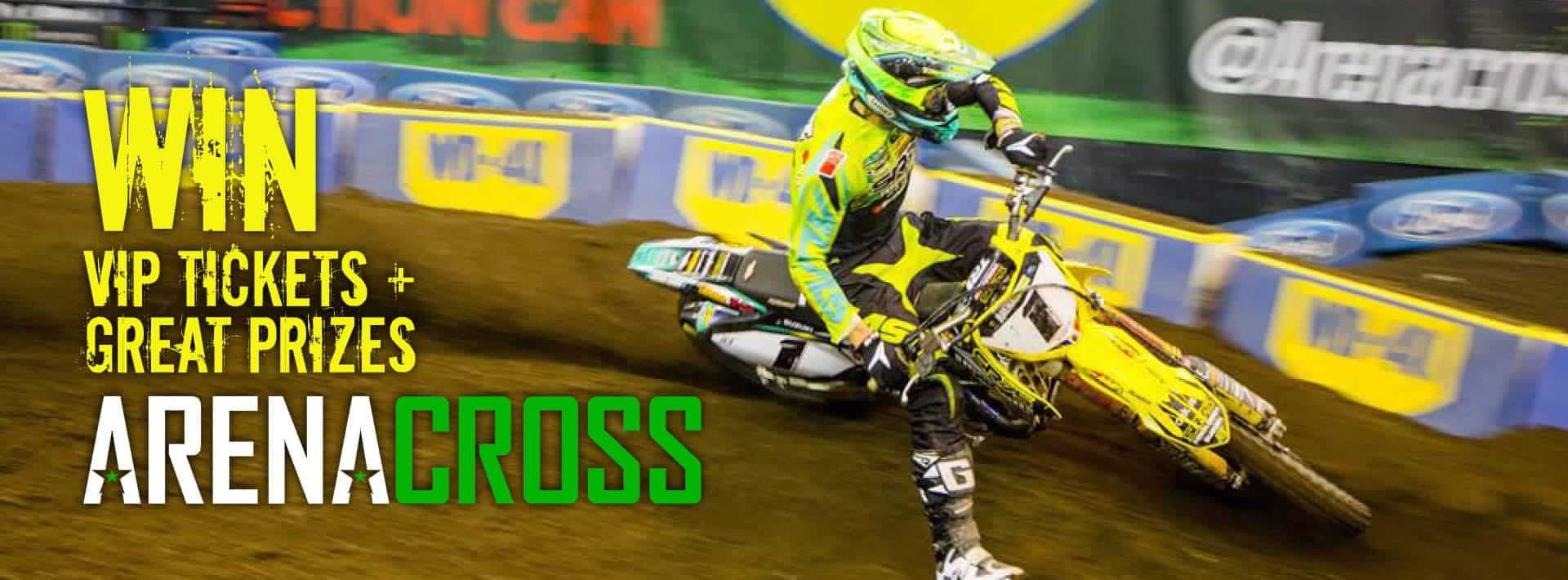 WD-40 are proud Arenacross prize giveaway