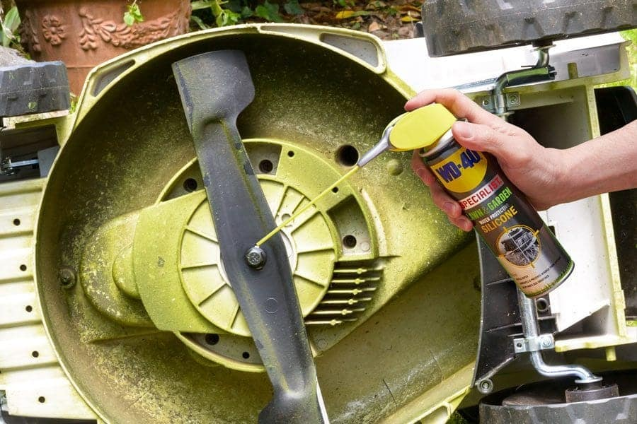 lawn and garden silicone lubricant