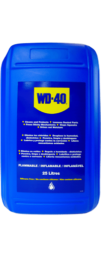 wd 40 25 litre can