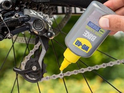 dry lube usage shot