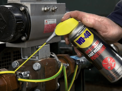 WD-40 Specialist product range - designed to help tradespeople