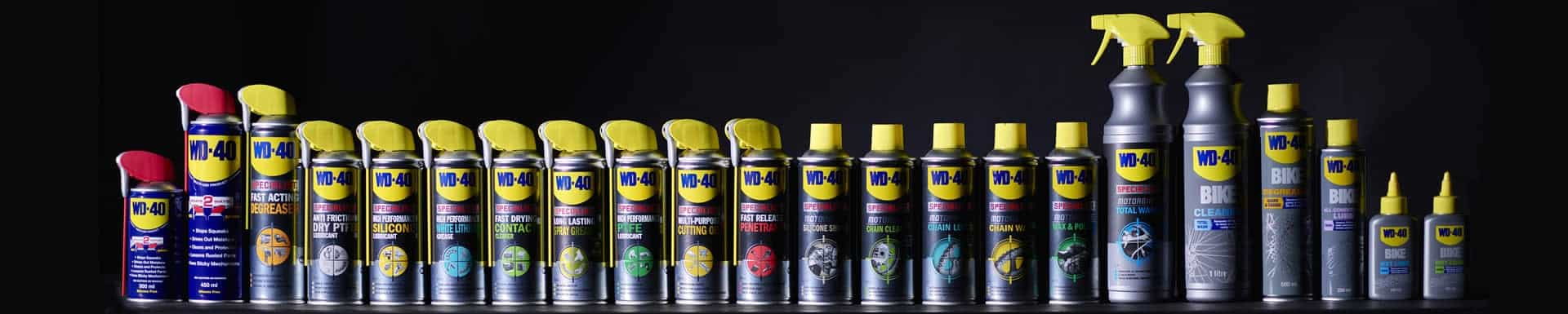 wd 40 product range header